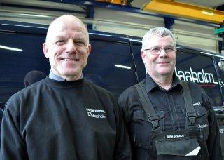 Jørn & Jens Erik på Blade Mover serivceopgave i Hull