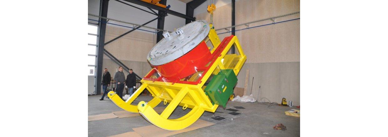 FAT test af konstruktion til udskiftning af vinge leje til Siemens Gamesa Renewable Energy