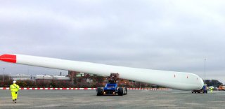 Træning med Blade Mover og Rootend Mover hos Siemens Gamesa Renewable Energy i Hull