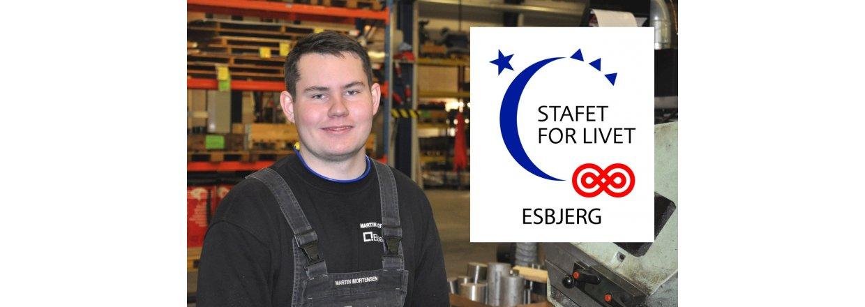 Blaaholm støtter STAFET FOR LIVET - ESBJERG