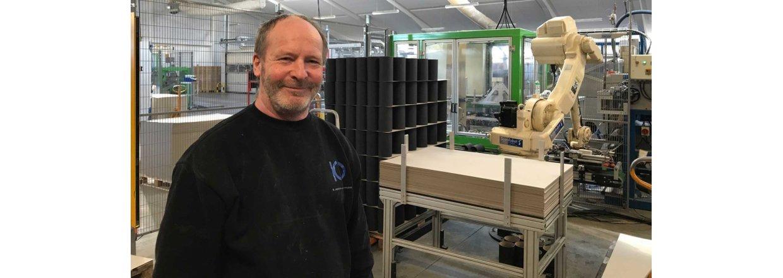 Fra 18 mio. til 28 mio. dkk via automatiseringer hos Kjærgaard Paprør