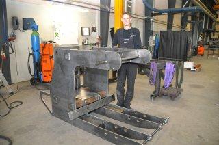 Dygtigt svejsearbejde fører til kvalitetsprodukter i Blaaholm