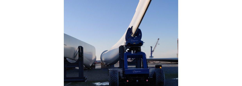 Blade Mover Tip Clamp sikrer løft af vingen fra vilkårlig vinkel